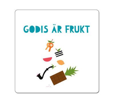 Godis är frukt