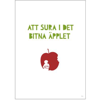 Sura i äpplet